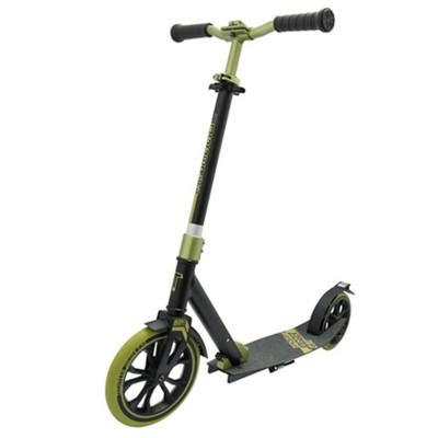 Самокат для взрослых ТТ 230 jogger черно-зеленый  2021