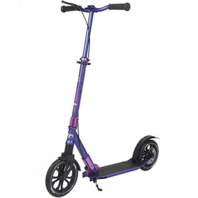Самокат с большими колесами TT SPORT 230R purple 1/2