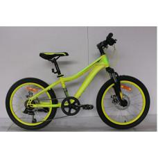 """Подростковый велосипед Nameless 20"""" S2200D, зеленый/синий, 12"""""""