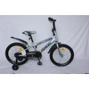"""Детский велосипед Rook 18"""" Hope серебристый"""