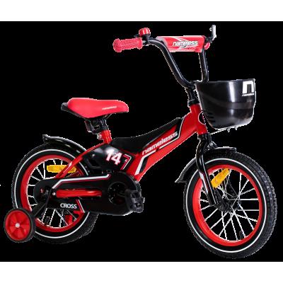 """Детский велосипед Nameless 16"""" Cross красный/черный"""