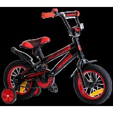 """Детский велосипед Nameless 14"""" Sport черный/красный"""