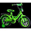 """Детский велосипед Nameless 16"""" Vector, зеленый/черный"""