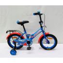 """Детский велосипед AVENGER 16"""" """"NEW STAR, голубой/красный"""