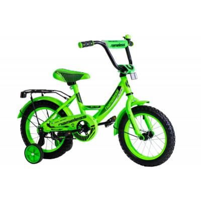 """Детский велосипед Nameless 18"""" Vector, зеленый/черный"""
