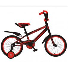 """Детский велосипед Nameless 16"""" Sport красный/черный"""