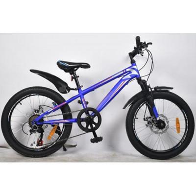 """Подростковый велосипед Rook 20"""" MS200D, синий/красный"""
