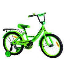 """Детский велосипед Nameless 20"""" Vector, зеленый/черный"""