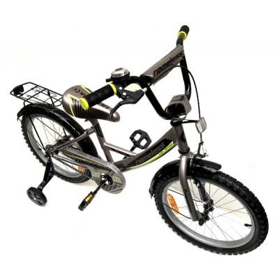 """Детский велосипед Nameless 20"""" VECTOR, серебристый/желтый"""