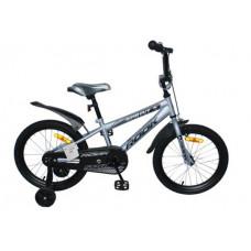 """Детский велосипед Rook 16"""" Sprint серый"""