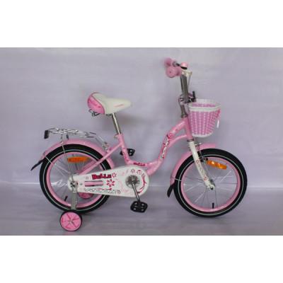 """Детский велосипед Rook 16"""" Belle розовый"""