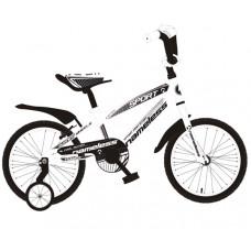 """Детский велосипед Nameless 18"""" Sport белый/черный"""