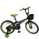 """Детский велосипед Nameless 18"""" Cross черный/зеленый"""