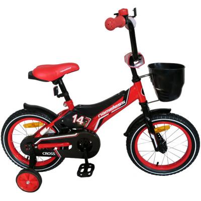 """Детский велосипед Nameless 12"""" Cross красный/черный"""