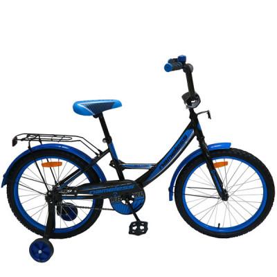 """Детский велосипед Nameless 20"""" Vector, черный/голубой"""