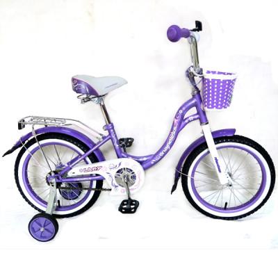 """Детский велосипед Nameless 18"""" Lady фиолетовый/белый"""