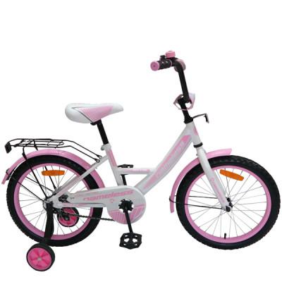 """Детский велосипед Nameless 20"""" Vector, белый/розовый"""