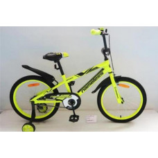 """Детский велосипед Nameless 12"""" Sport, желтый/черный"""