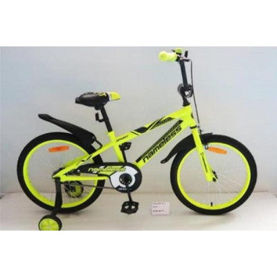"""Детский велосипед Nameless 16"""" Sport желтый/черный"""