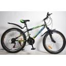 """Подростковый велосипед Rook 24"""" MS241 черный/желтый"""