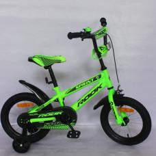 """Детский велосипед Rook 16"""" Sprint зеленый"""