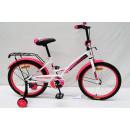 """Детский велосипед AVENGER 18"""" """"NEW STAR"""" белый/розовый неон"""