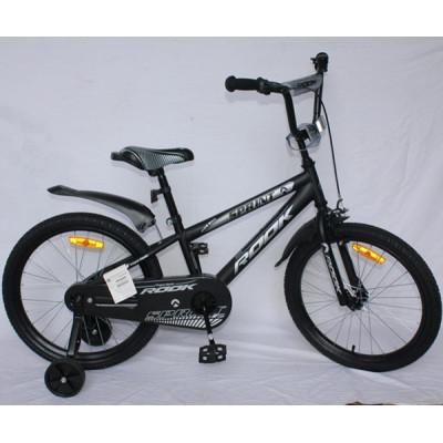 """Детский велосипед Rook 16"""" Sprint черный"""