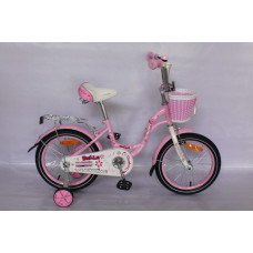 """Детский велосипед Rook 14"""" Belle розовый"""