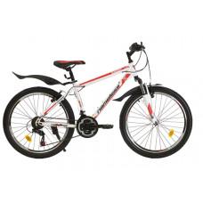 """Подростковый велосипед Nameless 24"""" S4200, серый/оранжевый, 13"""""""