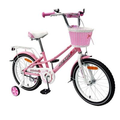 """Детский велосипед AVENGER 20"""" """"LITTLE STAR, розовый/белый"""