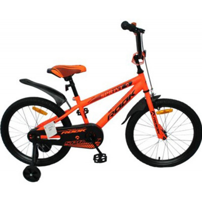 """Детский велосипед Rook 14"""" Sprint оранжевый"""