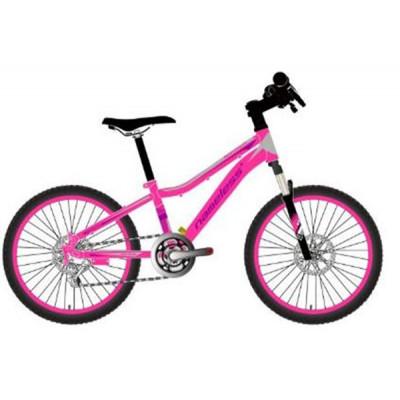 """Подростковый велосипед Nameless 20"""" S2200DW, розовый/серый, 12"""""""