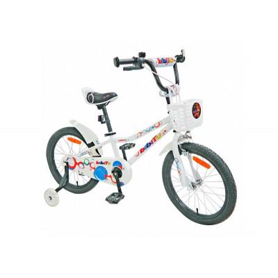 """Детский велосипед BIBITU 18"""" AERO, Белый"""