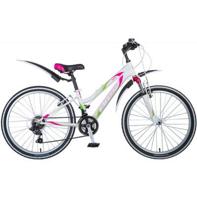 """Велосипед Stinger 24"""" Latina 12"""" белый"""