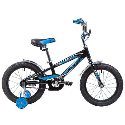 """Велосипед NOVATRACK 16"""", DODGER, черный"""