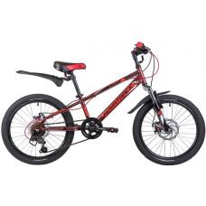 """Велосипед NOVATRACK 20"""", EXTREME, коричневый"""