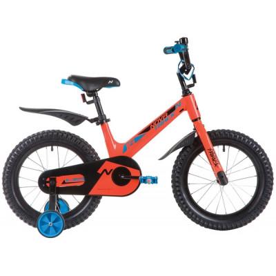 """Детский велосипед NOVATRACK 16"""", Mагний-Алюминиевая рама, BLAST"""