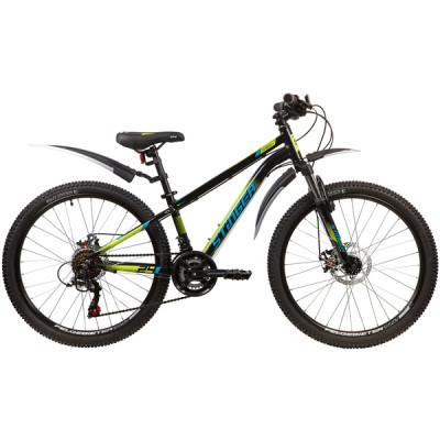 """Подростковый велосипед Stinger 24"""" Element Evo 12"""" черный"""