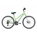 """Женский велосипед  Stinger 26"""" Latina D; 17""""; зеленый"""