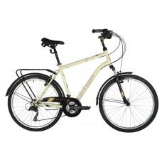 """Городской велосипед STINGER TRAFFIC 26"""" (2021), рама 20"""", коричневый"""