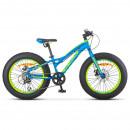 Велосипед Stels Aggressor MD 20' ( FAT) V010 Синий