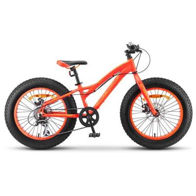 Велосипед Stels Aggressor MD 20' (FAT) V010 Неоновый-красный