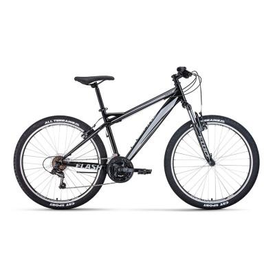 Горный велосипед 26' Forward Flash 26 1.2 S Черный/Серый 20-21 г