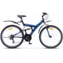 """Горный велосипед Focus V 26"""" 18"""" Тёмно-синий/синий 2021"""