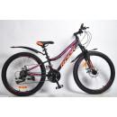"""Горный велосипед Rook 26"""" MА260DW, черный/розовый"""
