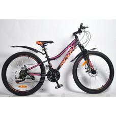 """Велосипед Rook 26"""" MА260DW, черный/розовый"""