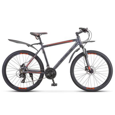 Горный велосипед Stels Navigator 620 D V010 Антрацитовый