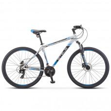 Велосипед Stels Navigator 900 D F010 Серебристый/Синий 29Ø