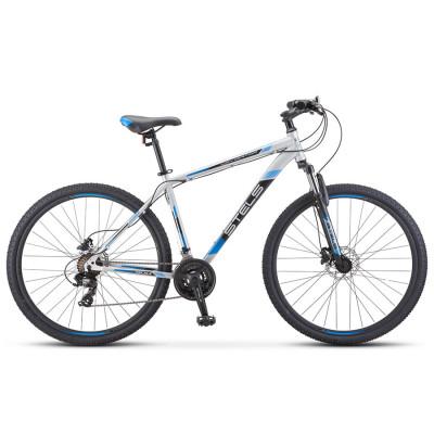Горный велосипед Stels Navigator 900 D F010 Серебристый/Синий 29Ø