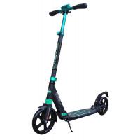 Самокат City Scooter (черно-бирюзовый)